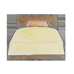 ベッドアイコン